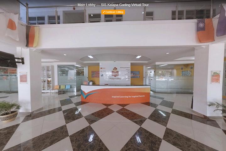 SIS KG Main Lobby